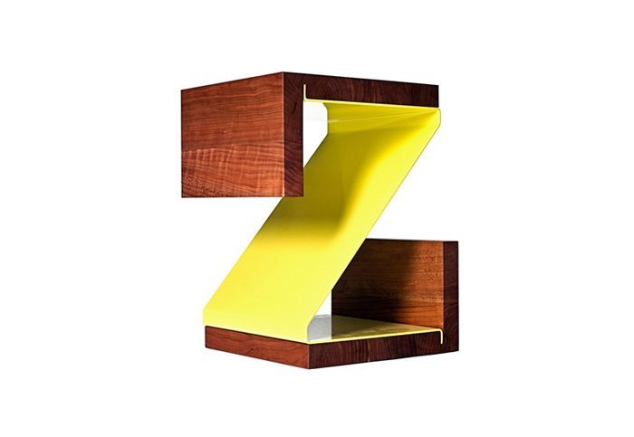 Muebles y objetos decorativos tipográficos •