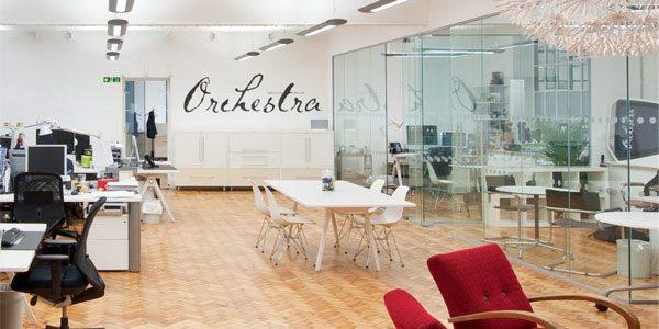 Decoraci n de oficinas orchestra for Decoracion de oficinas creativas