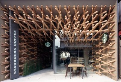 Decoración de Starbucks