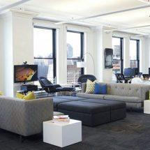 Decoración de oficinas: Foursquare en Soho