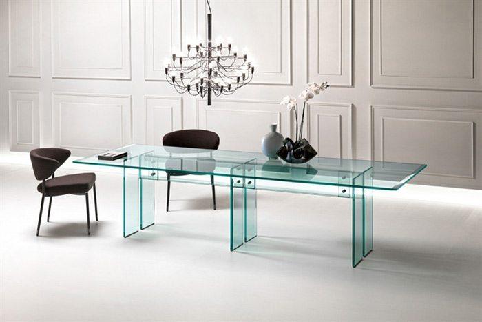 mesas de vidrio para comedor fiam