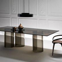 Mesas de vidrio