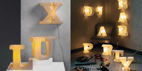 [Iluminación] Lámparas tipográficas de Seletti