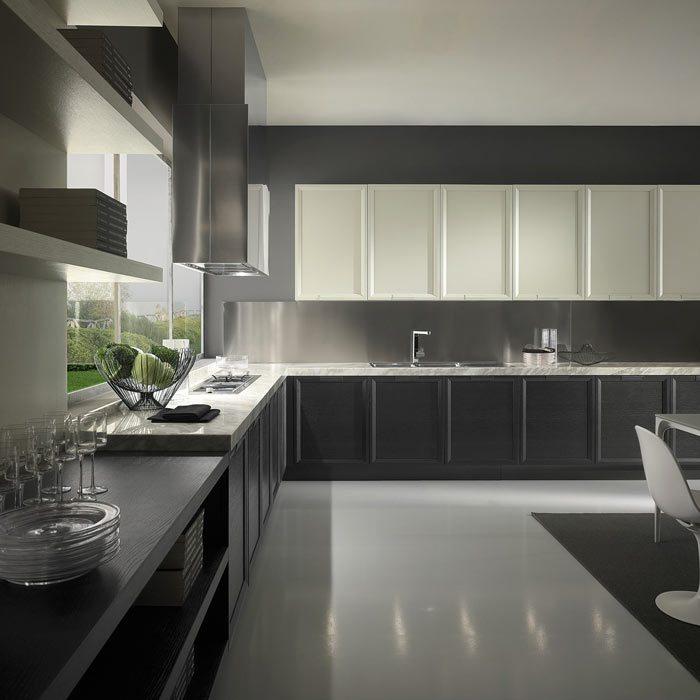Cocinas modernas colecci n opera for Cocinas industriales modernas