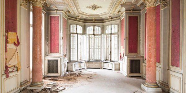 Fotografías de edificios abandonados