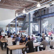 Nuevas oficinas de Pinterest en San Francisco