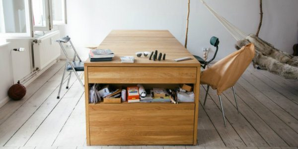 Muebles transformables: Workbed