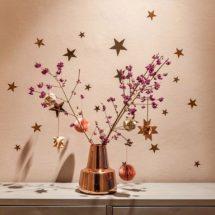 Decoración de Navidad con estrellas