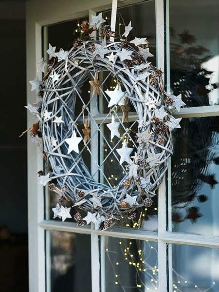 Decoraci n de navidad con estrellas for Decoracion con estrellas