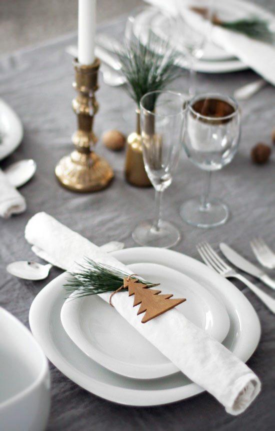 Decoraci n de navidad mesa navide a - Decoracion de mesa en navidad ...