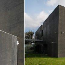Casa moderna de máxima seguridad por KWK
