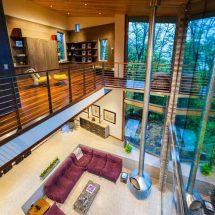 Casa inspirada en los elementos naturales