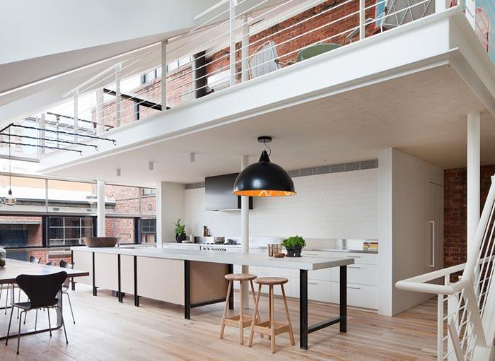 Departamento tipo loft en australia for Interior designs australia