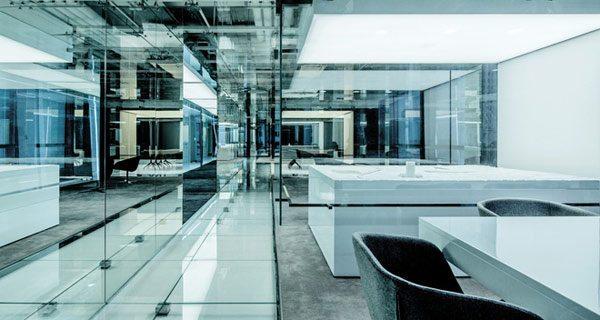 Oficinas De Vidrio En Shanghai Por Aim