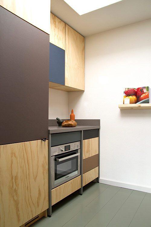 Cocina moderna con toques industriales for Cocinas industriales modernas