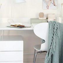 Decoración escandinava: Home office