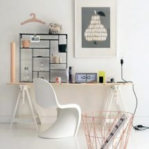 Decoración escandinava: Home office