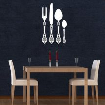 Decoración de paredes: vinilos para cocina
