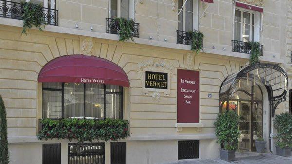 Decoración de hoteles: Vernet en Paris