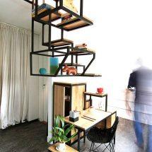 Escalera con estantería Object Élevé