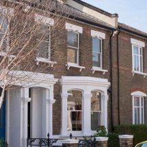 Casa victoriana remodelada en Londres