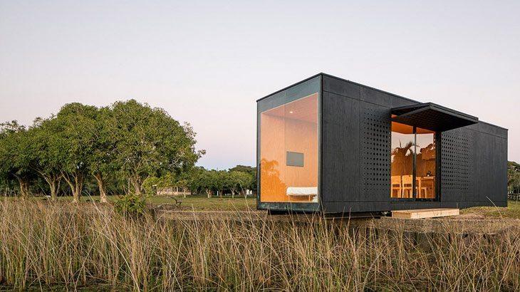 Casa prefabricada moderna minimod - Presupuesto casa prefabricada ...