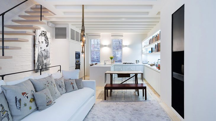 Departamento remodelado en New York