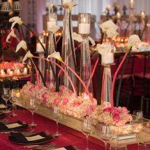 Decoración de mesas de bodas