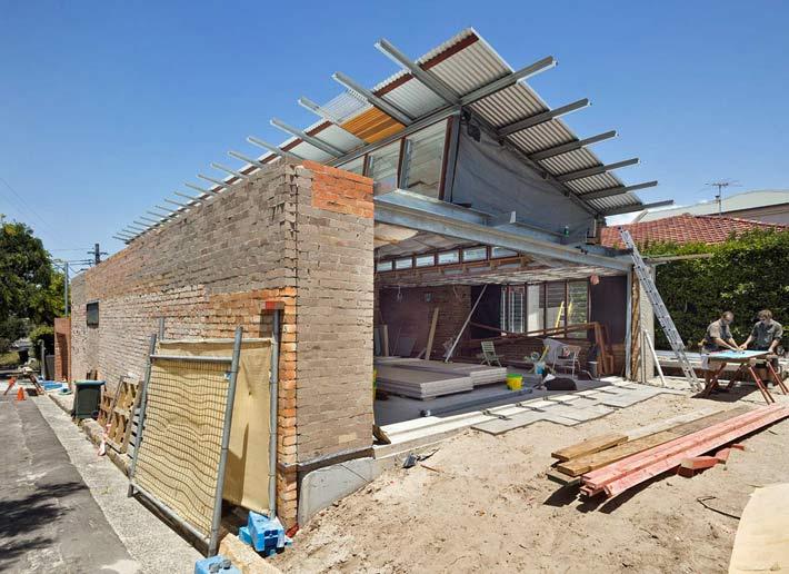 Casa moderna de madera en sidney for Casa moderna madera