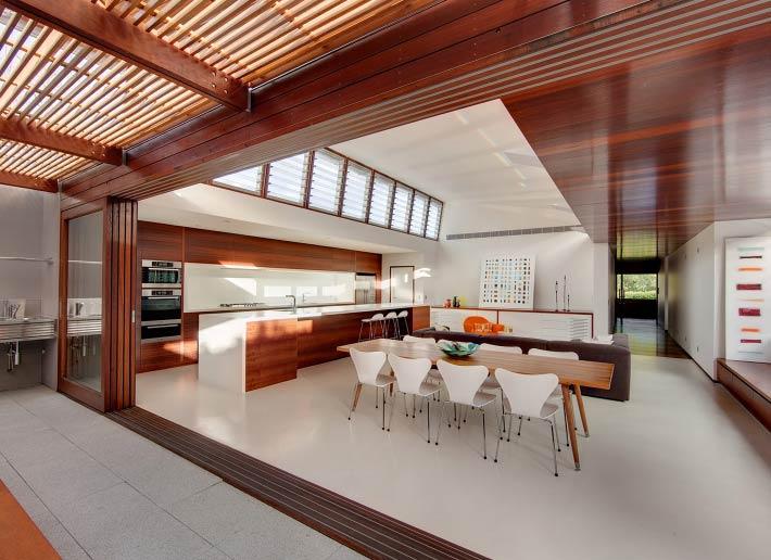 Casa moderna de madera en sidney - Casas modernas de madera ...
