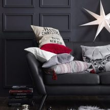 Decoración navideña: tonos neutros