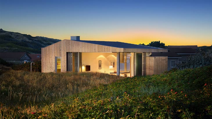 Casa de madera vacacional en Vlieland