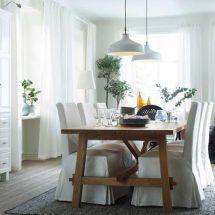 Decoración del comedor por IKEA