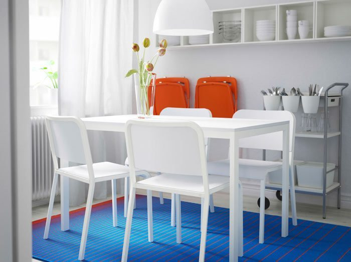 Decoración del comedor por IKEA •