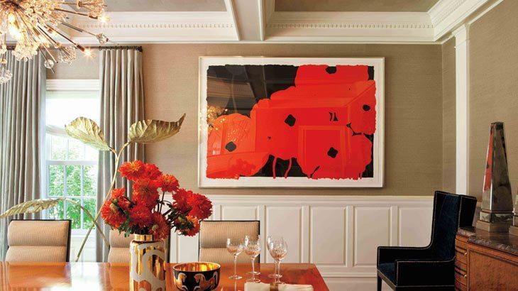 Diseño de interiores por David Scott