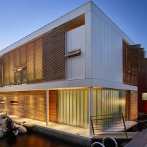Casa flotante en Seattle