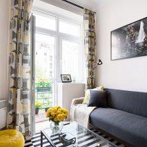 Pequeño y colorido departamento en Praga