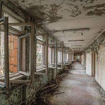 La zona de exclusión abandonada en Chernobyl