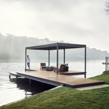 Casa familiar moderna en Lake Austin