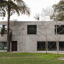 Casa de hormigón armado en Argentina