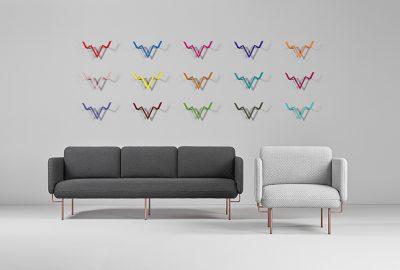 Missana lanza una línea de sillones con textura por Chris Hardy