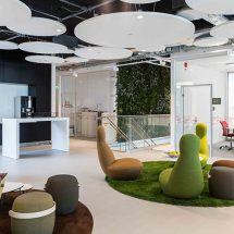 Riksbyggen presentó sus nuevas oficinas en Suecia