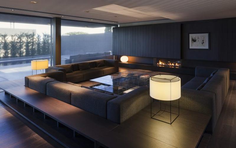 Casa moderna de 3 pisos en barcelona por francesc rif for Casa moderna udine 2016 espositori