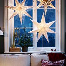 Decoracion de Navidad para ventanas