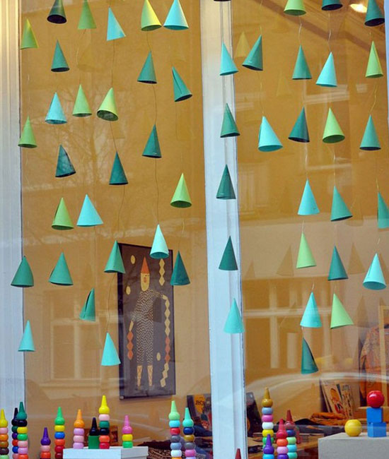 Decoraci n de navidad para ventanas - Articulos decoracion navidad ...