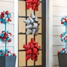 Decoración navideña para puertas