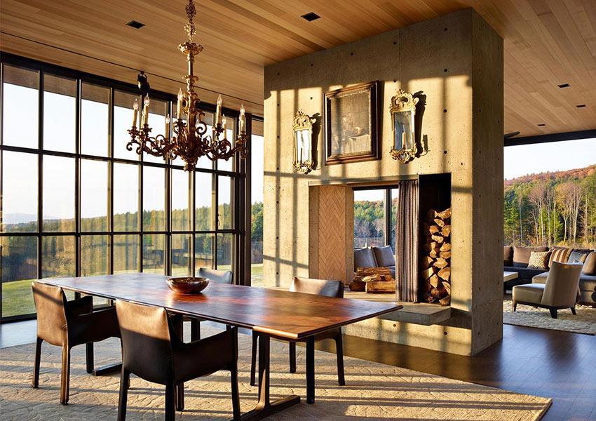 Casa moderna de montaña: Berkshire Residence