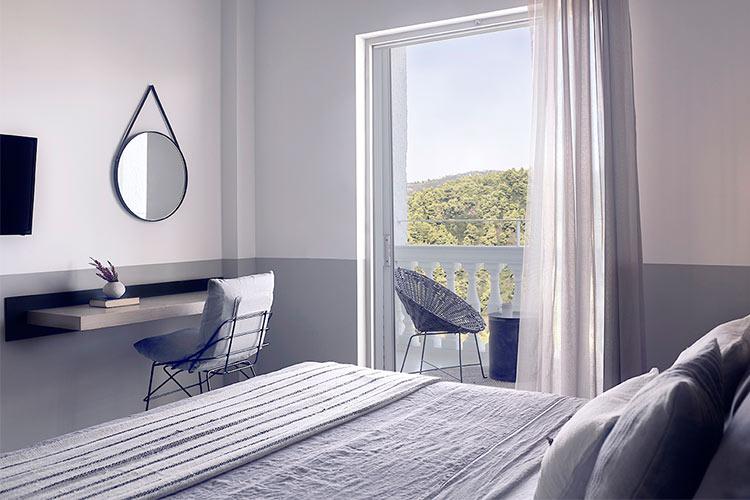 Hotel griego frente al mar