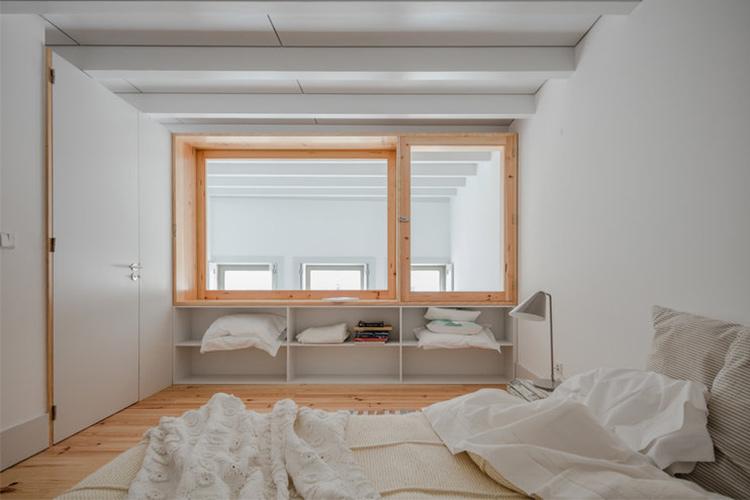 Transformación de una casa en un edificio de departamentos