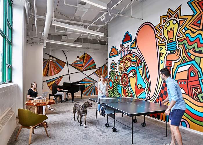 Oficinas de Etsy en NY